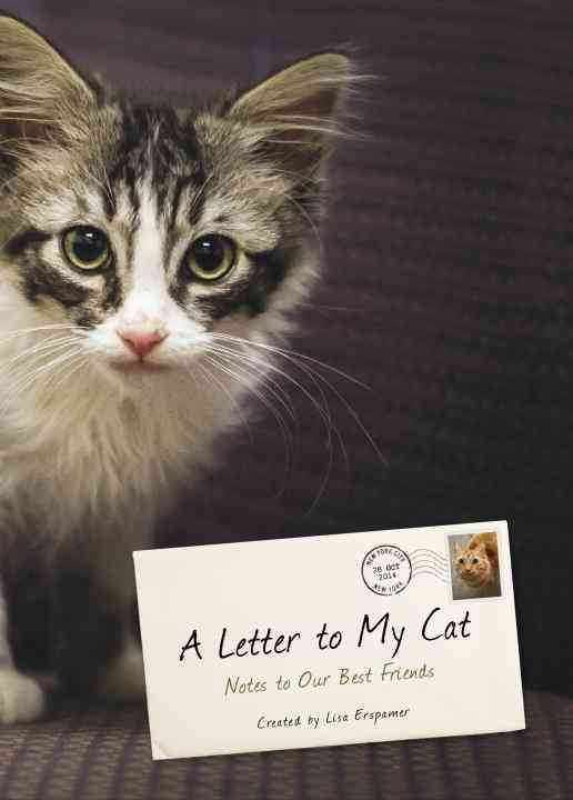 A Letter to My Cat By Erspamer, Lisa